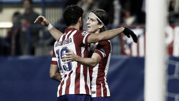 """Diego Costa ganha """"apoio"""" de Filipe Luís em um possível retorno ao Atlético de Madrid"""