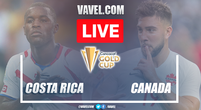 Goals and Highlights: Costa Rica 0-2 Canadain Gold Cup