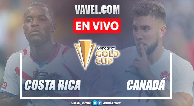 Goles y resumen del Costa Rica 0-2 Canadá en Copa Oro 2021