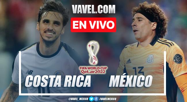 Gol y resumen del Costa Rica 0-1 México en Eliminatorias Concacaf 2022