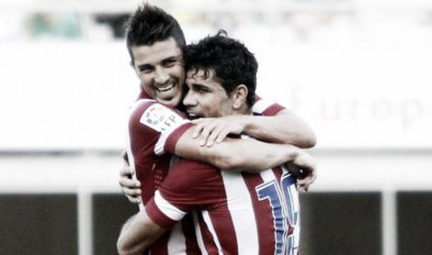 Diego Costa - David Villa: pareja de goleadores
