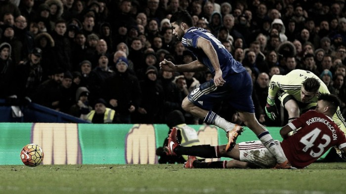 Chelsea 1-1 Manchester United: Costa leaves it late to maintain Hiddink's unbeaten streak