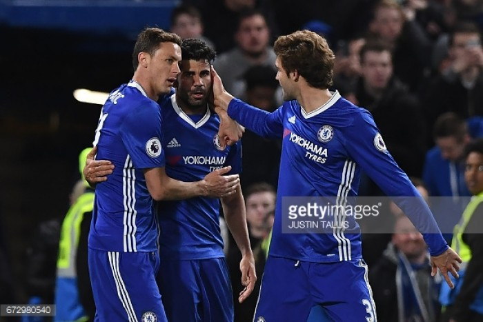 Diego Costa and Nemanja Matic both left off of Chelsea's preseason squad