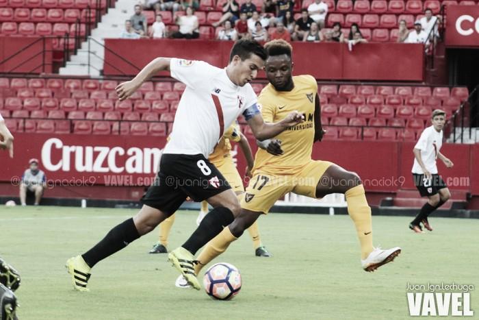 Cotán, otra baja más en el Sevilla Atlético