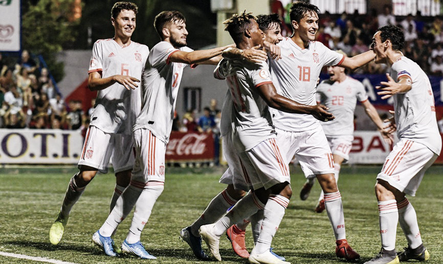 La selección española sub-20 también se llevó la final del COTIF