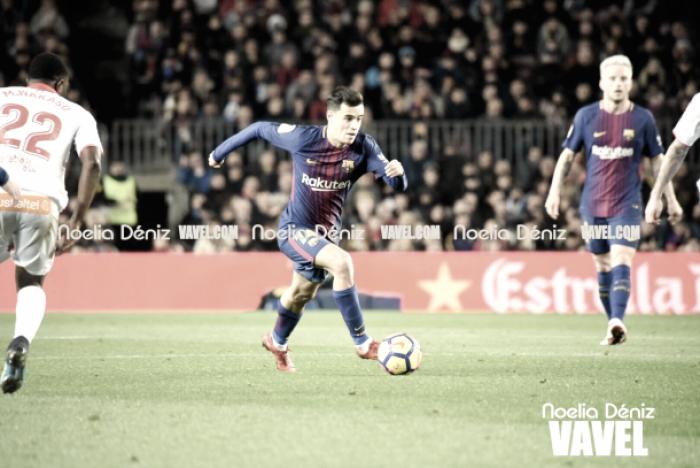 Coutinho, un nuevo brasileño que ve portería en Can Barça