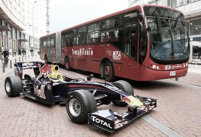 A 10 años del día en el que Bogotá se convirtió en una pista de Fórmula 1