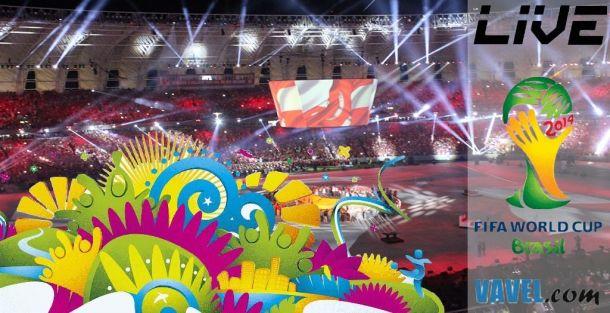 Live : La cérémonie d'ouverture de la Coupe du Monde 2014 en direct