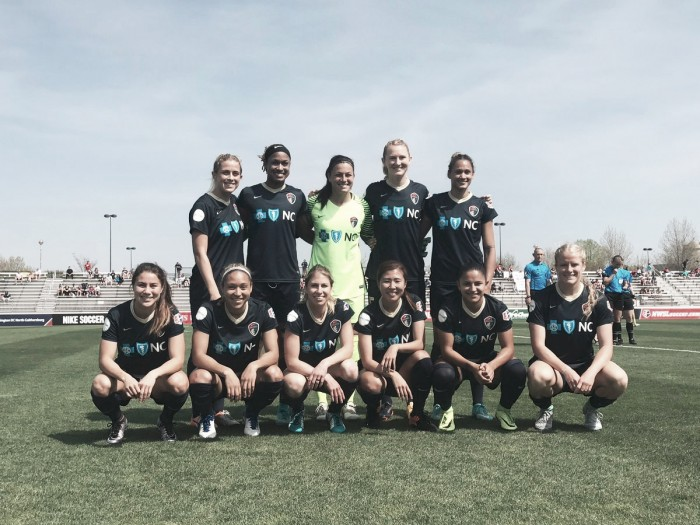 North Carolina Courage first ever victory over Washington Spirit