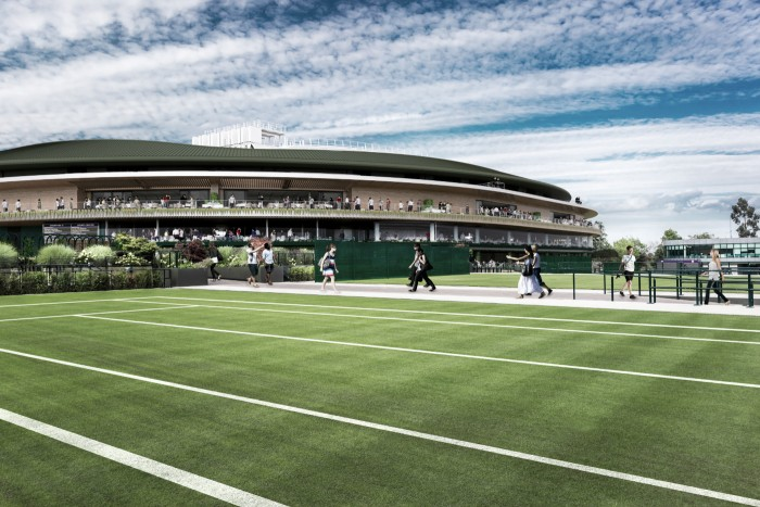 Wimbledon unveils No.1 Court plans and its commitment to improve integrity