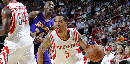 Jornada NBA: Houston se impone a los Lakers y Utah puede con los Thunder