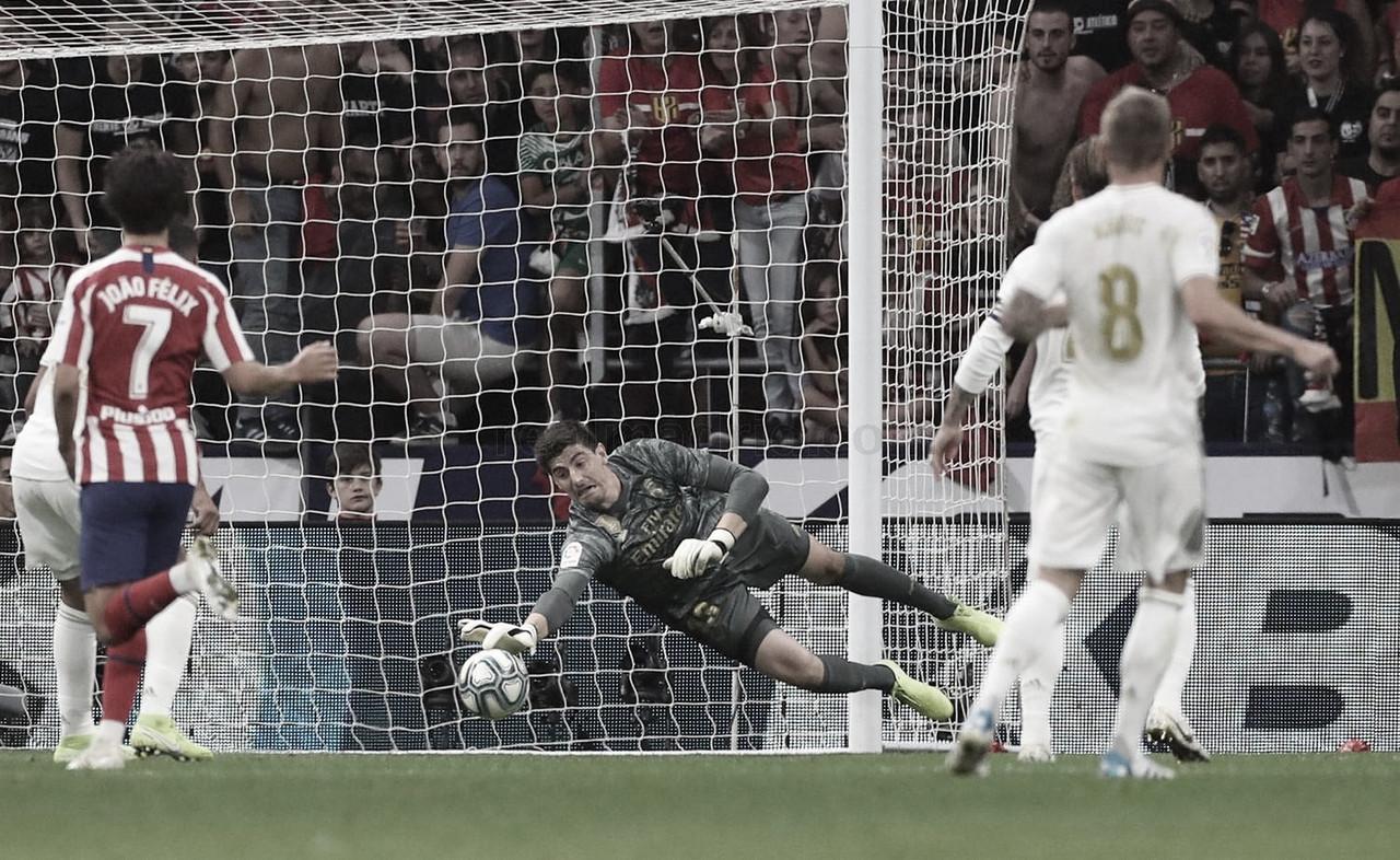El Madrid levanta un muro en su portería