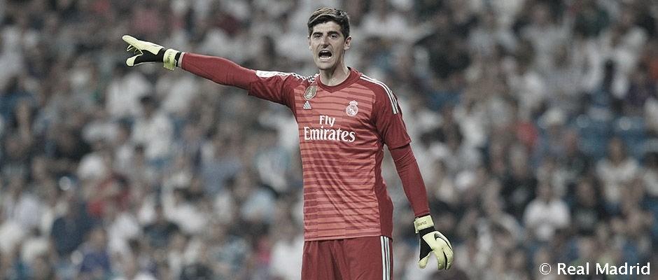 Courtois, el cerrojo del Real Madrid