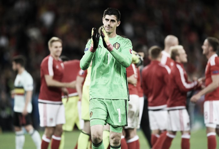 """Frustrado com eliminação da Bélgica, Courtois afirma:""""Maior decepção da minha vida"""""""