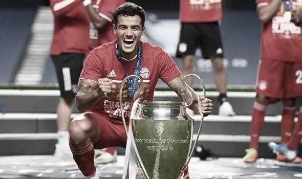 Coutinho se torna 53° brasileiro campeão da Champions League; veja lista