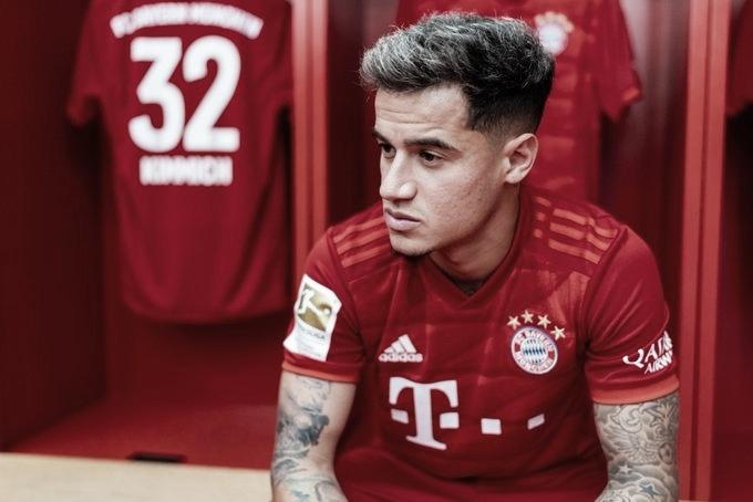 Ida de Philippe Coutinho ao Bayern de Munique rende R$ 840 mil ao Vasco