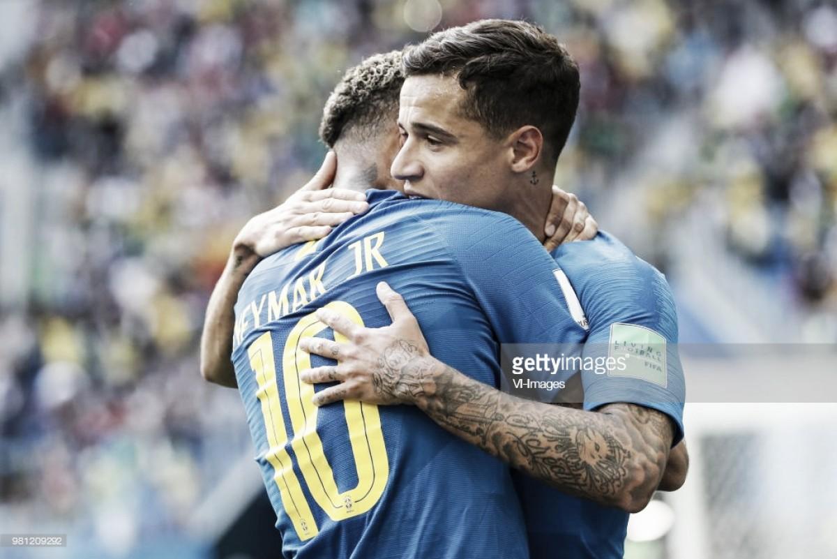 Vitória brasileira ao cair do pano