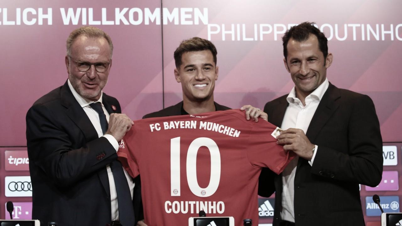 Philippe Coutinho é apresentado no Bayern e diz estar em um 'novo desafio'