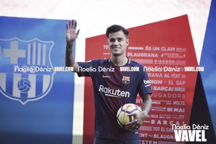 Coutinho ha llegado lesionado a Barcelona
