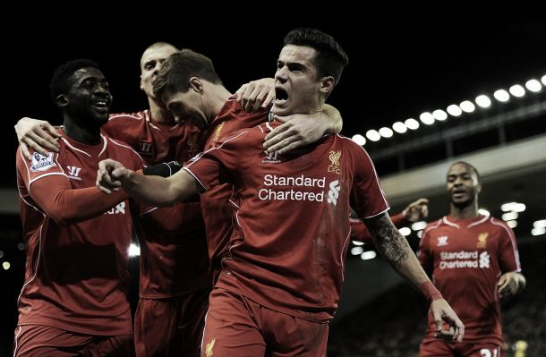 Philippe Coutinho close to agreeing revised four-and-a-half year deal with Liverpool