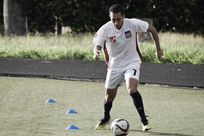 Maurice Cova volvió a los entrenamientos