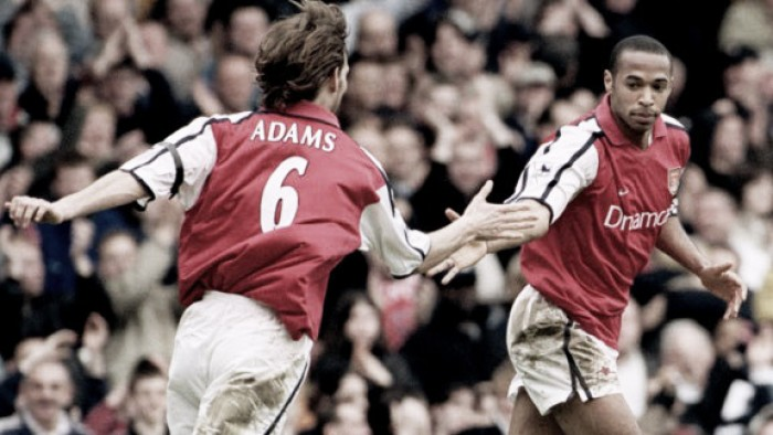 How can Thierry Henry and Tony Adams impact on the Arsenal U-18's?