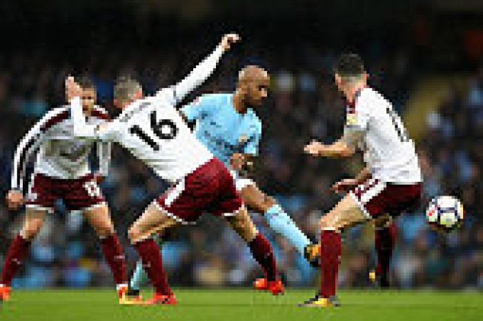 Manchester City 3-0 Burnley: Clarets' player ratings after harsh defeat
