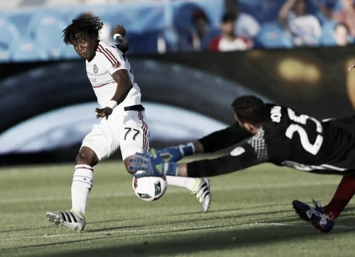 Score D.C. United vs Chicago Fire in 2016 Major League Soccer (6-2)