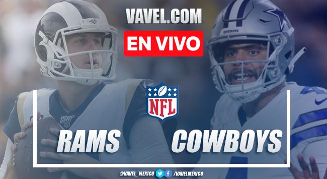 Resumen y Touchdowns: Los Angeles Rams 21-44 Dallas Cowboys en NFL 2019