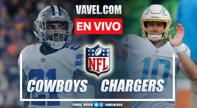 Resumen y anotaciones Cowboys 20-17 Chargers en NFL 2021