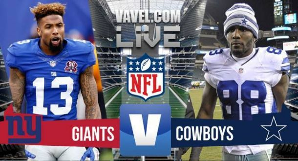 Result And Score New York Giants At Dallas Cowboys Vavel Com