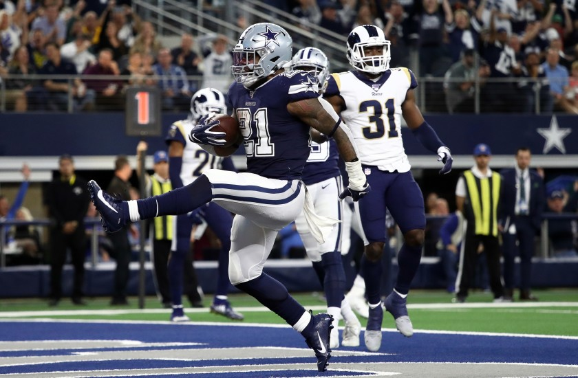 Cowboys roll against the Rams