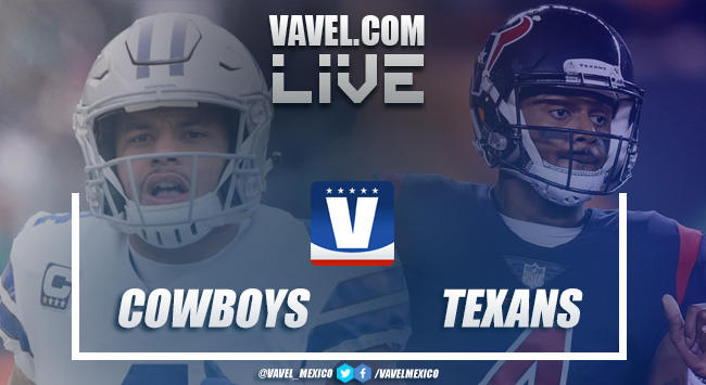Dallas Cowboys vs Houston Texans Live Stream Result and NFL Scores 2018 (0-0)