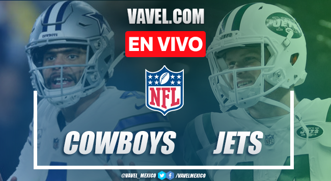 Dallas Cowboys vs New York Jets en vivo cómo ver transmisión TV online en NFL 2019 (0-0)