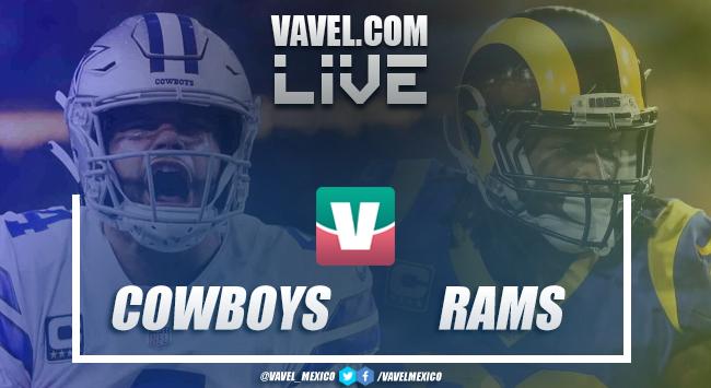 Resumen y video touchdowns Dallas Cowboys 22-30 Los Ángeles Rams en Playoffs NFL 2019