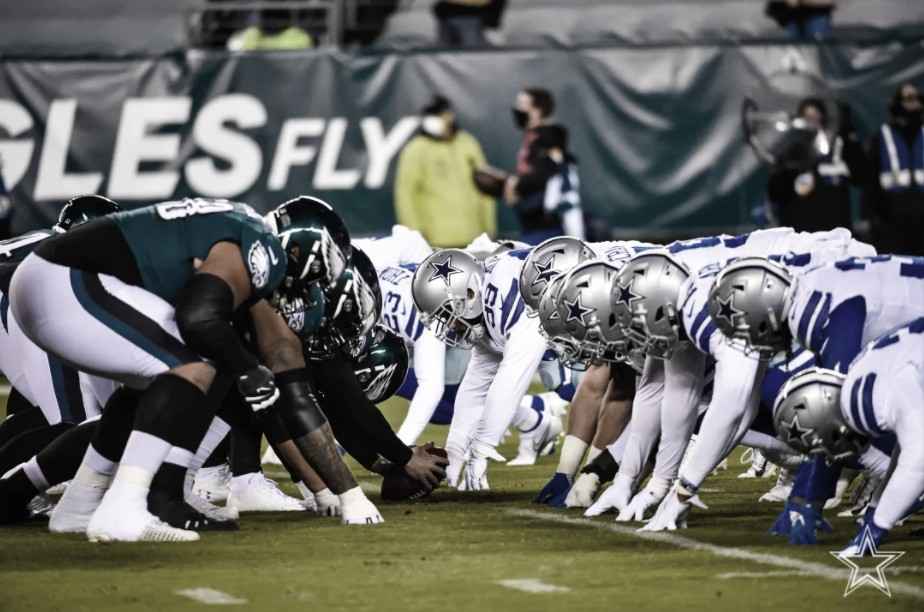 Eagles vencem Cowboys e tomam liderança da NFC Leste
