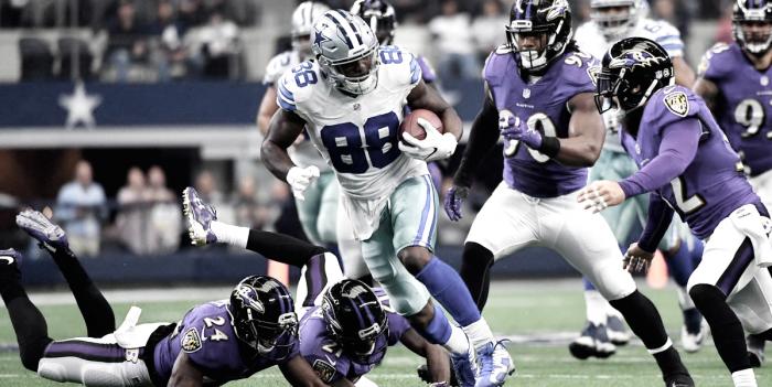 Cowboys vence Ravens e segue tranquilo na briga pela NFC East