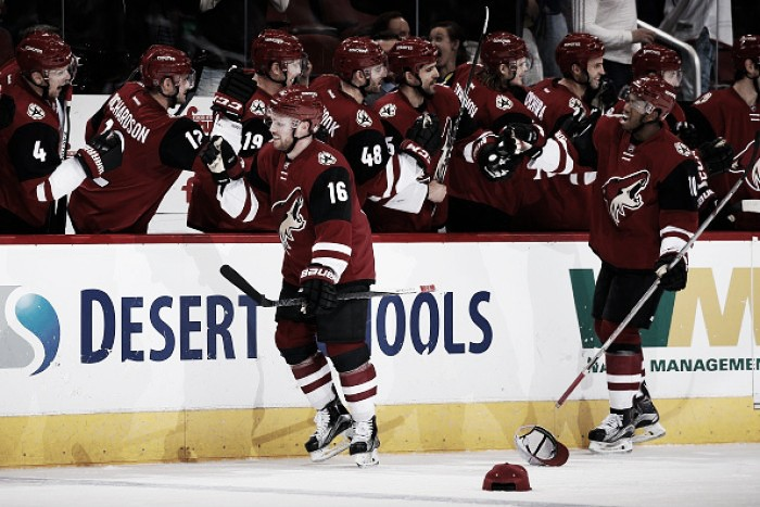 Arizona Coyotes: 2015-16 season carried by young players