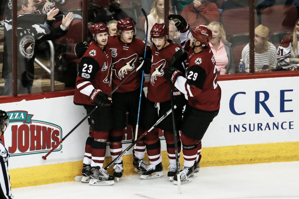 Arizona Coyotes: Circle these dates for next season games