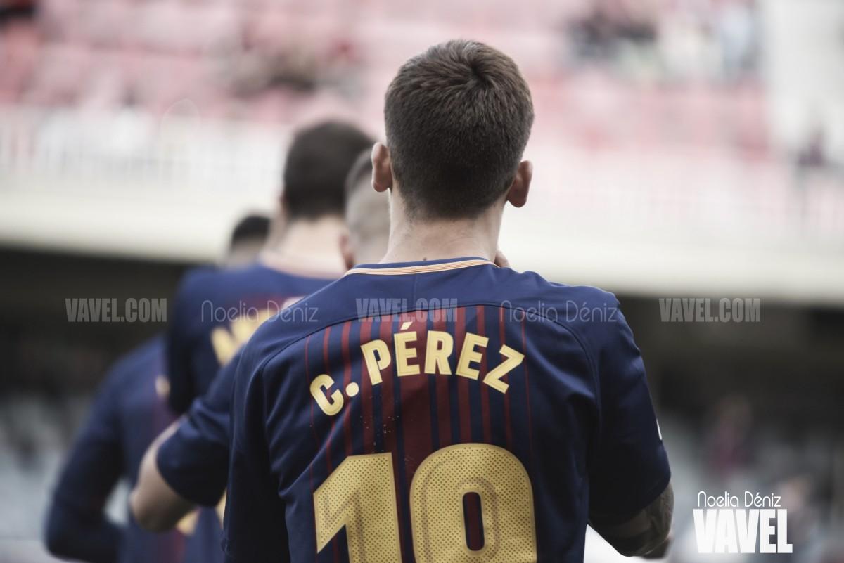 Carles Pérez renueva con el Barcelona
