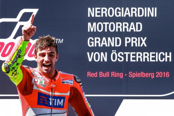 MotoGP, Austria: le parole dei piloti sul podio