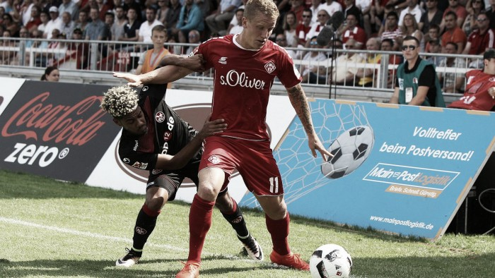 Würzburger Kickers 1-1 1. FC Kaiserslautern: Points shared in first-ever meeting