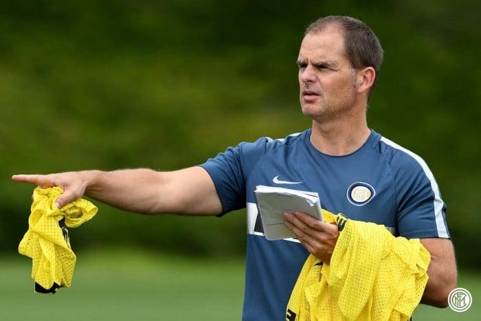 Inter, si presenta De Boer