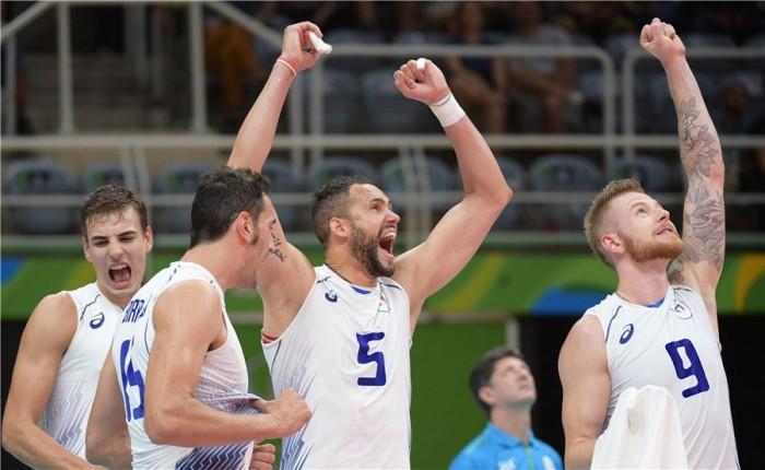 Rio 2016 Volley M- L'Italia supera anche l'ostico scoglio Usa