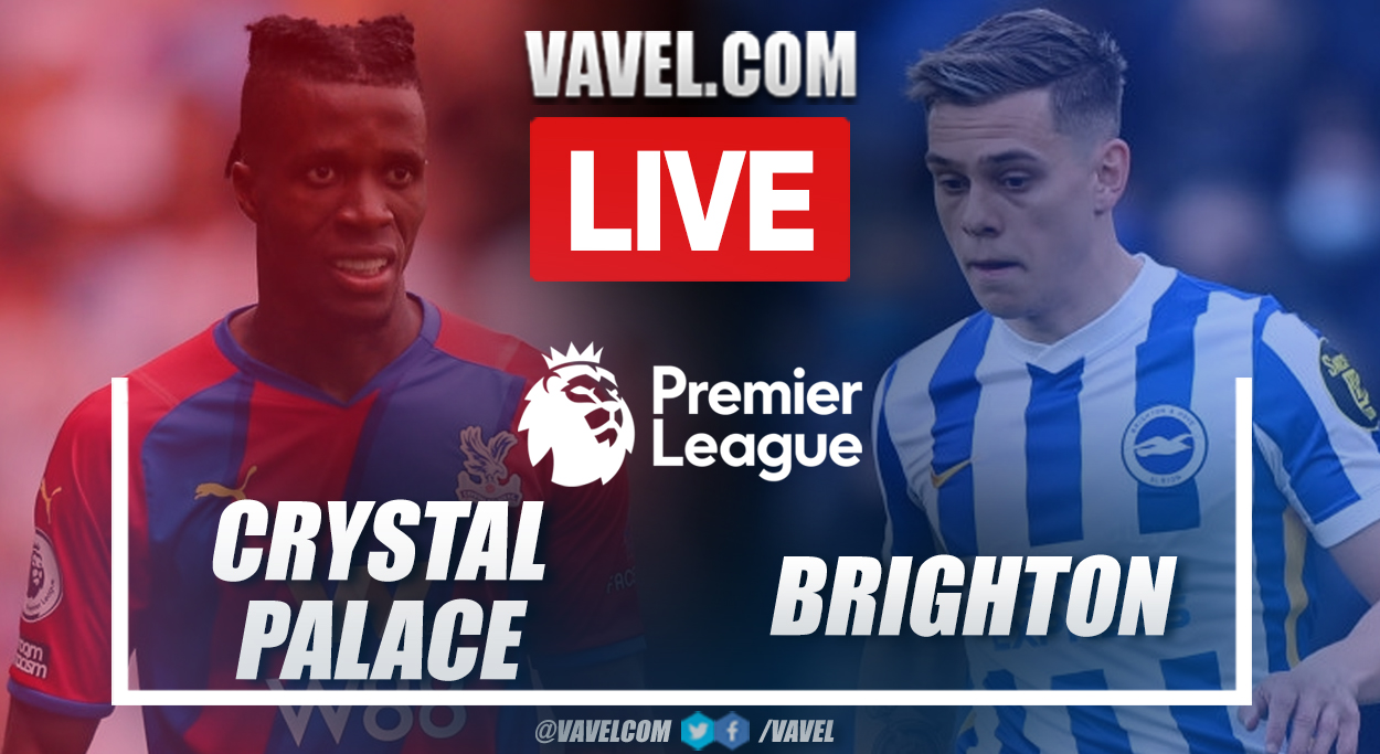 Highlights and goals: Crystal Palace 1-1 Brighton in Premier League 2021-22