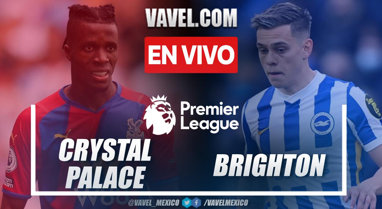 Resumen y goles: Crystal Palace 1-1 Brighton en la fecha 6 por Premier League 2021-22