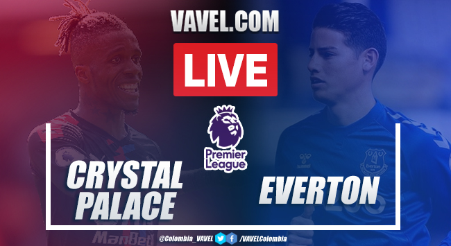 As it happened: Crystal Palace 1-2 Everton