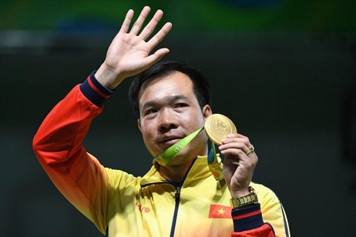 Rio, pistola 10 metri: oro al Vietnam con Hoang, argento Brasile
