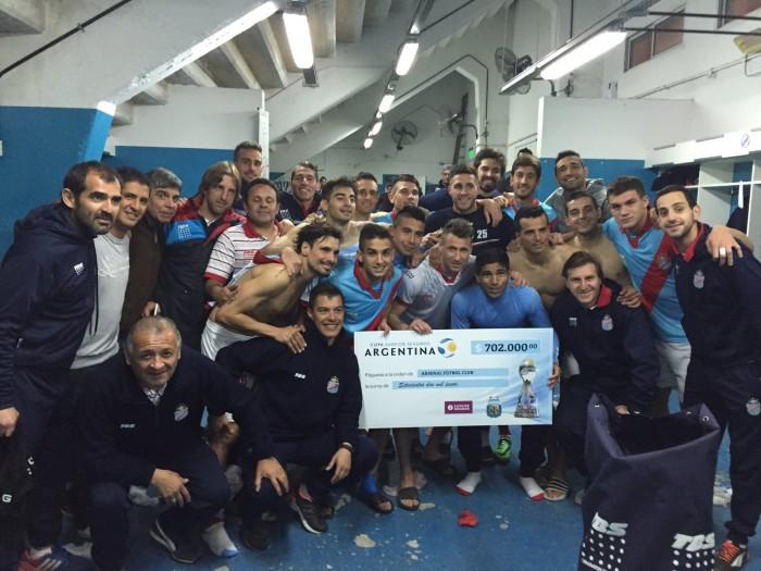 El Arse le ganó a Defensores y será rival de River por Copa Argentina