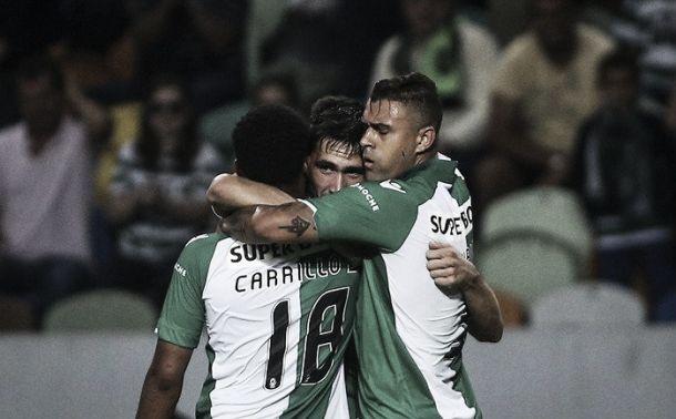 Sporting vence na «reacção» a Gelsenkirchen